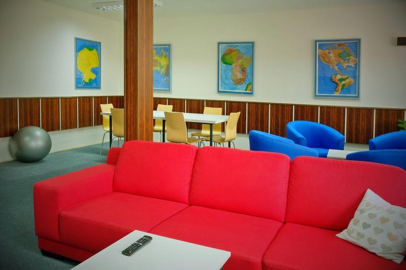 společenská místnost pro studenty Domova mládeže ...
